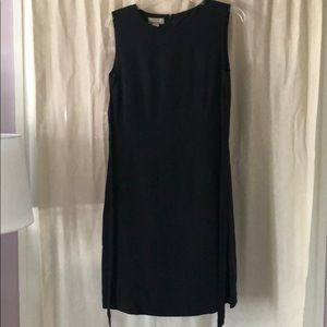 Black Silk Tommy Bahama Knee Length Dress